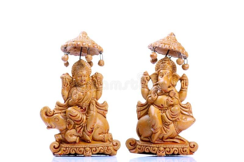 Indische godsidolen stock afbeeldingen