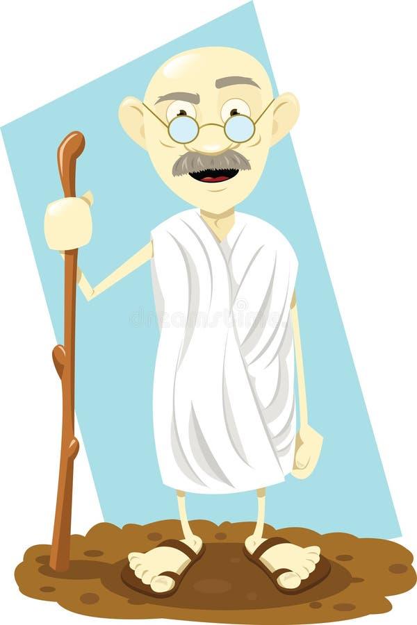 Indische Goeroe royalty-vrije illustratie