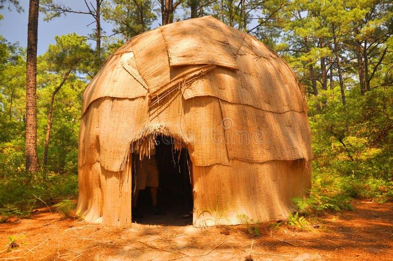 Indische Hütte stockfotos