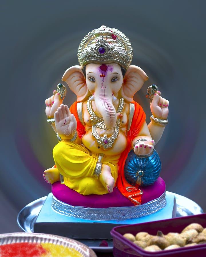 Indische Hindoese Lordgod Ganesh royalty-vrije stock fotografie