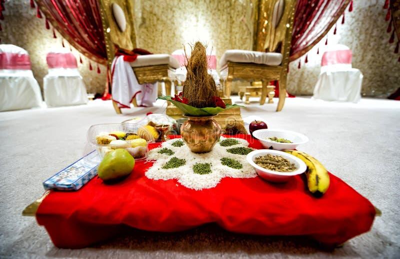 Indische Hochzeit stockbilder