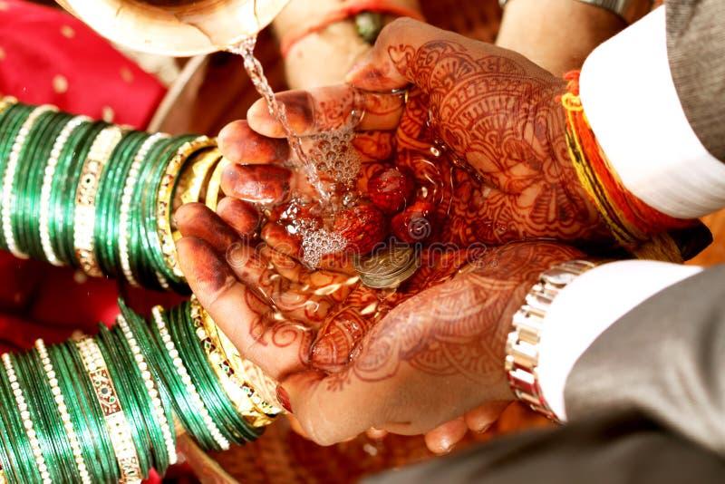 Indische Hochzeit lizenzfreies stockbild