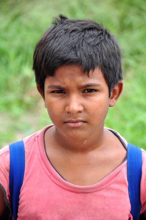 Indische jonge jongen stock afbeeldingen