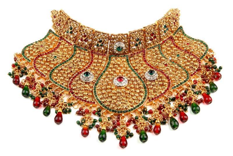 Indische juwelen royalty-vrije stock fotografie