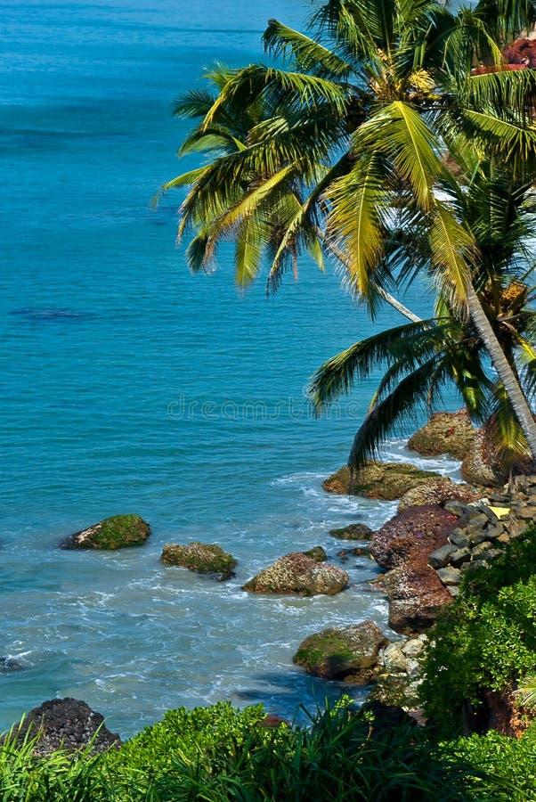 Indische Küste lizenzfreies stockbild