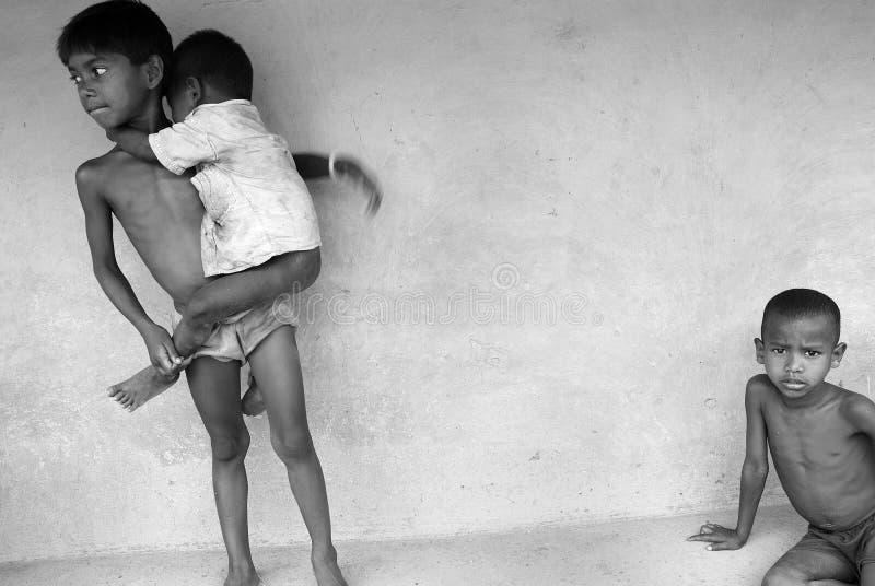 Indische kinderen. royalty-vrije stock fotografie