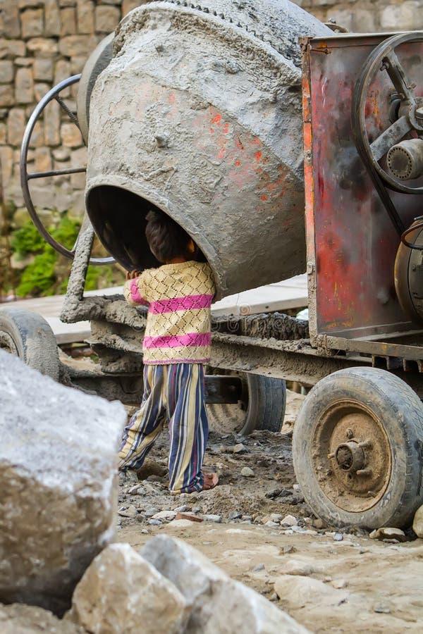 Indische kinderen stock fotografie
