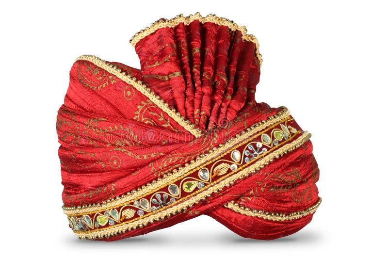 Indische Kopfbedeckung lizenzfreie stockfotos