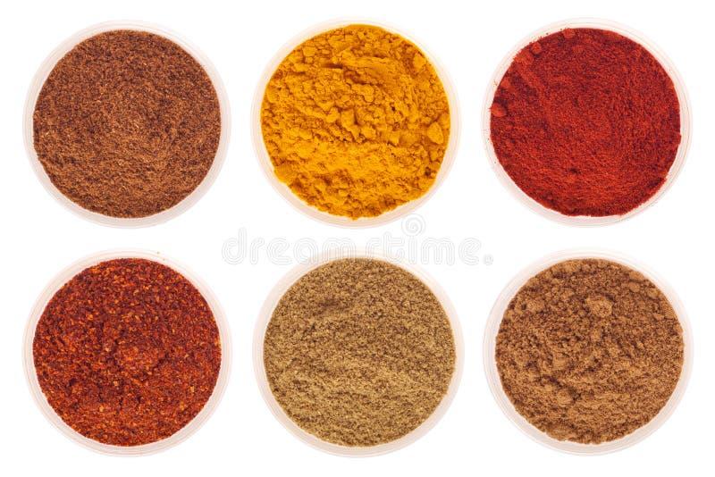 Indische kruiden stock afbeeldingen