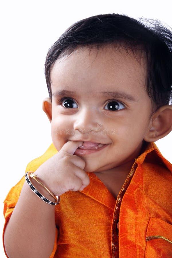 Indische Leuke Baby stock afbeeldingen