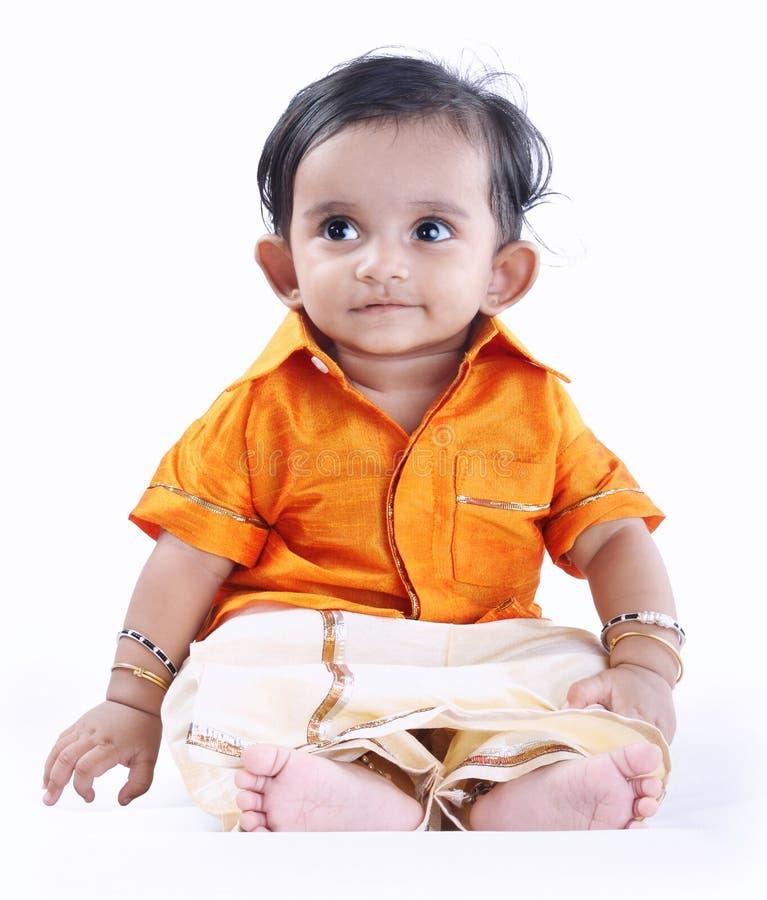 Indische Leuke Baby royalty-vrije stock foto's