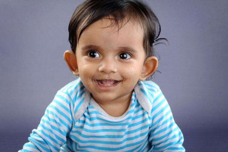 Indische Leuke Baby stock fotografie