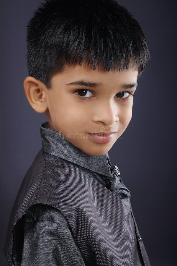 Indische Leuke Jongen stock foto's