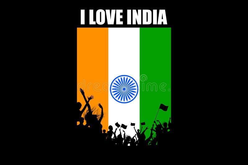 Indische Leute lizenzfreie abbildung