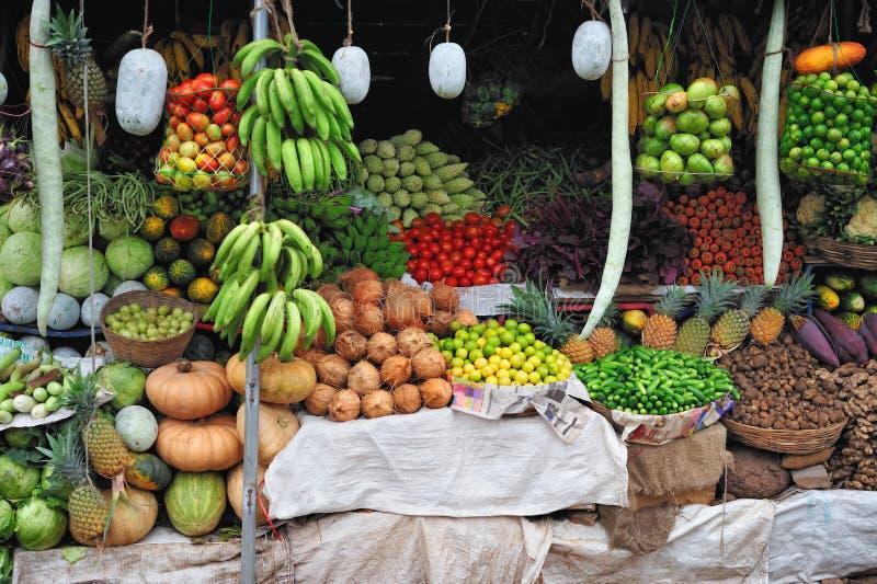 Indische Markt stock foto