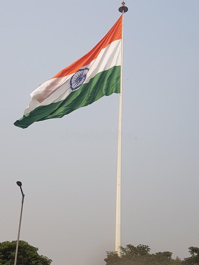 Indische nationale vlag royalty-vrije stock foto