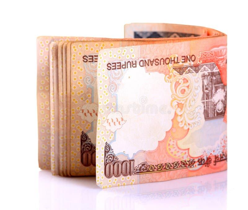 Indische nota's royalty-vrije stock afbeeldingen