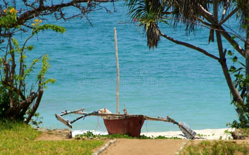 Indische Oceaan royalty-vrije stock afbeeldingen