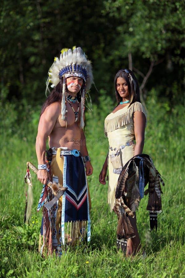Indische Paare stockfotos
