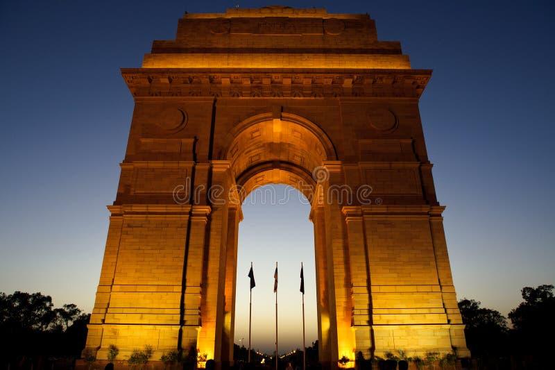 Indische Poort royalty-vrije stock afbeelding