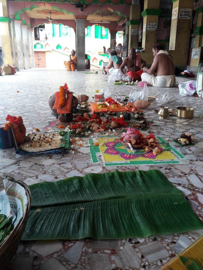 Indische rituelen royalty-vrije stock foto
