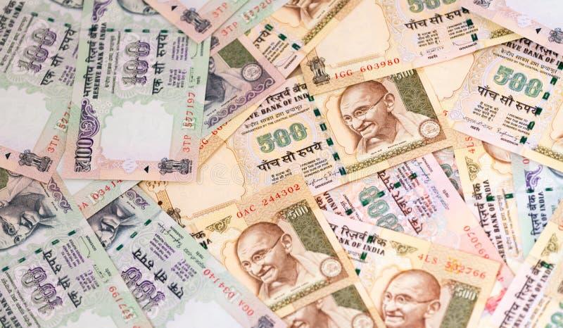 Indische Roepies royalty-vrije stock foto's