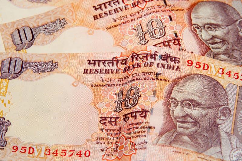 Indische Rupie lizenzfreie stockbilder