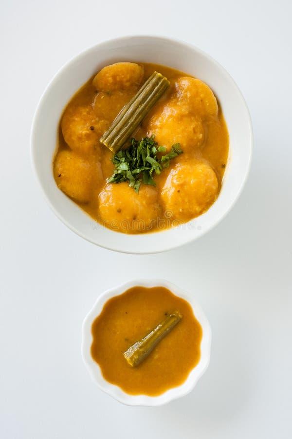 Indische sambar mini nutteloos royalty-vrije stock afbeelding