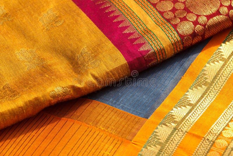 Indische Saris lizenzfreies stockfoto