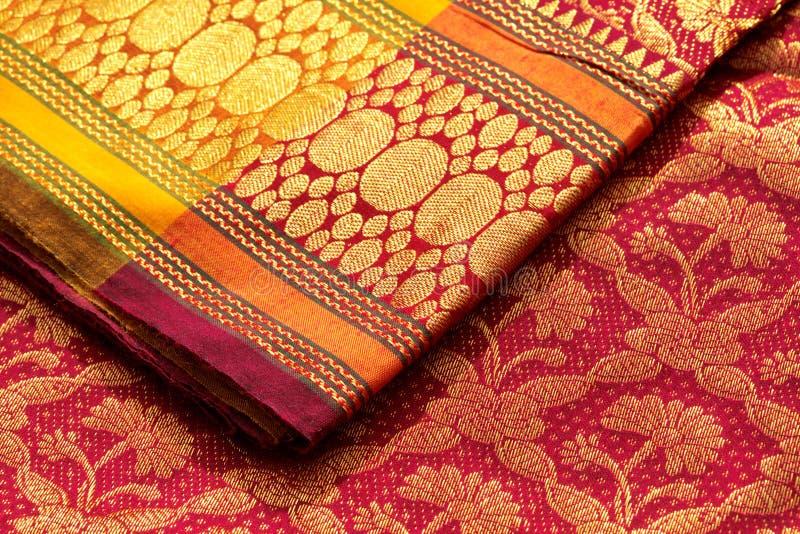 Indische Saris stockfoto