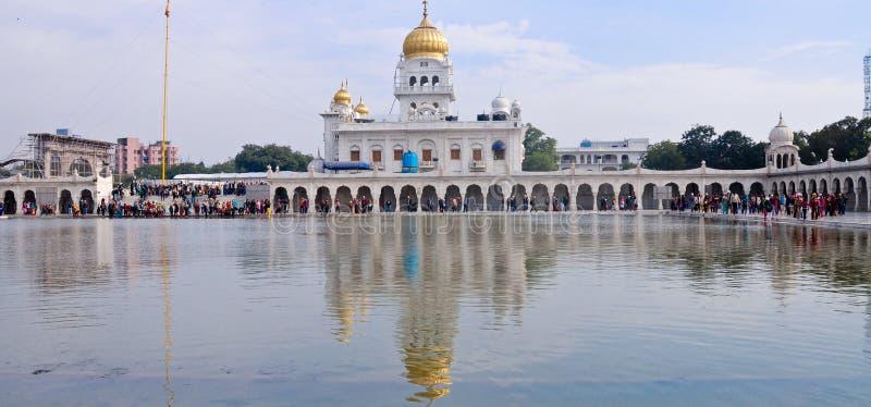Indische Sikh tempel stock afbeeldingen