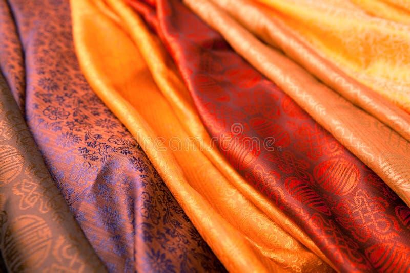 Indische sjaals royalty-vrije stock foto's