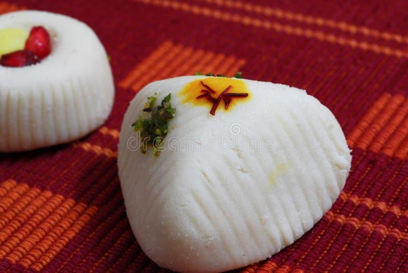 Indische Snoepjes Mithai royalty-vrije stock foto