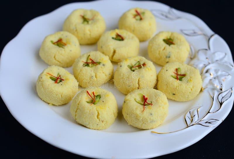 Indische Snoepjes - Peda stock afbeelding