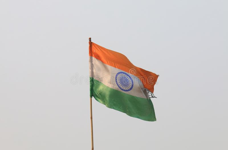 Indische Staatsflagge lizenzfreie stockfotografie