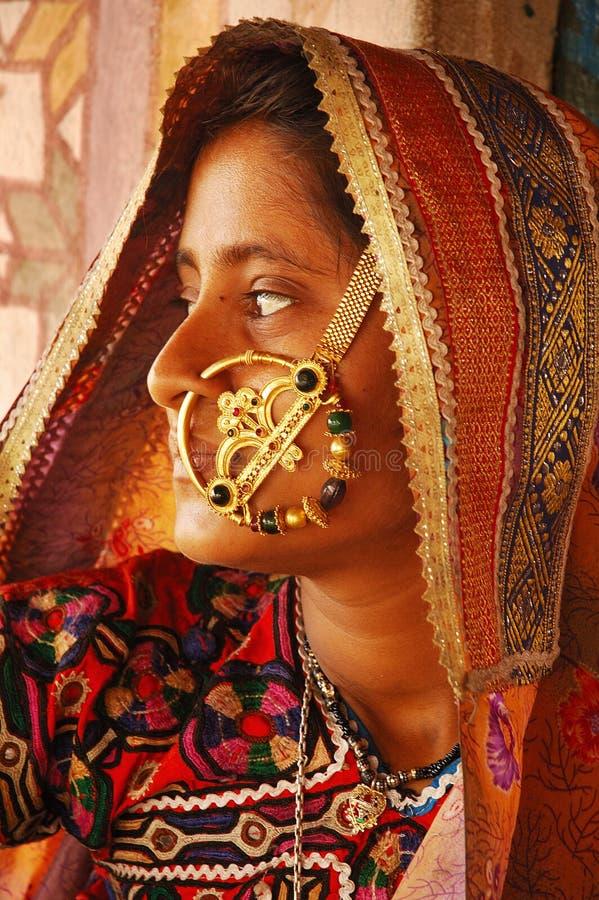 Indische Stammen royalty-vrije stock foto's