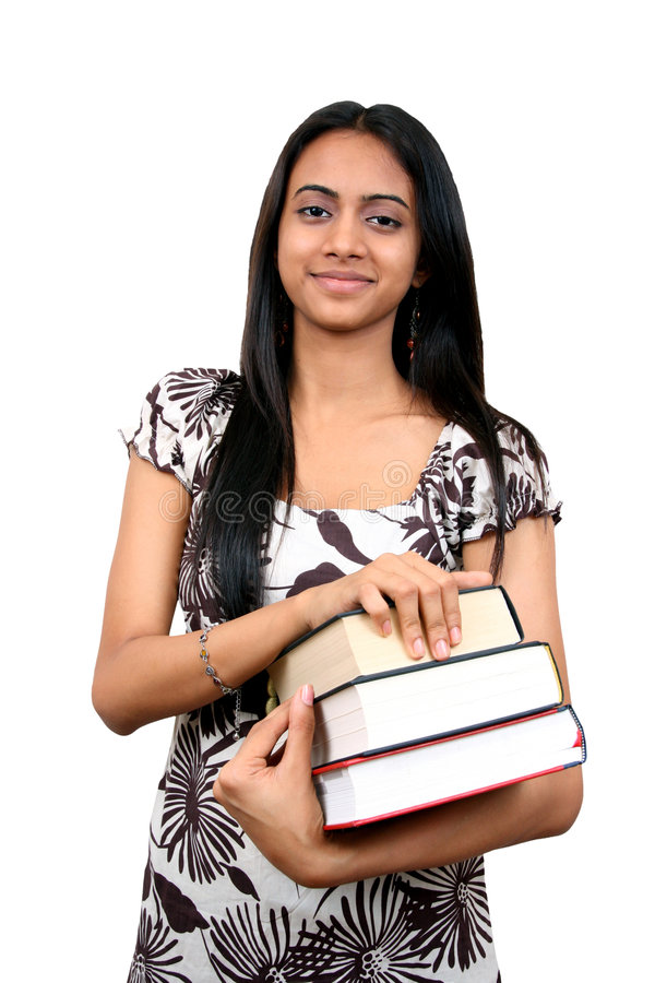 Indische Student stock foto
