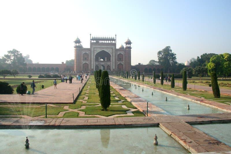 Indische Taj Mahal stock foto