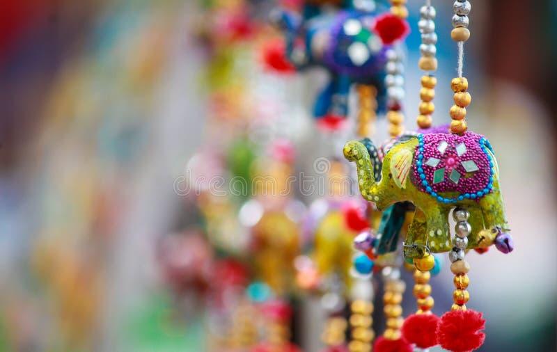 Indische traditionele hangende producten royalty-vrije stock afbeelding