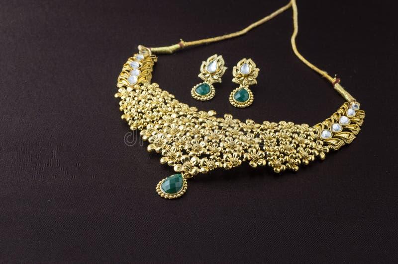 Indische traditionele juwelen royalty-vrije stock fotografie