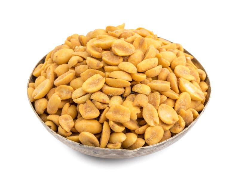 Indische traditionelle Snack-Food Masala-Erdn?sse lizenzfreies stockfoto