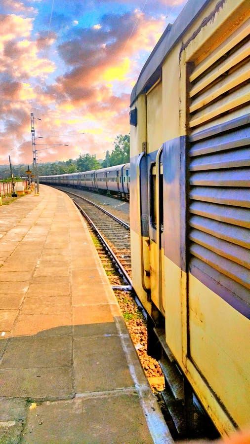 Indische trein stock afbeeldingen