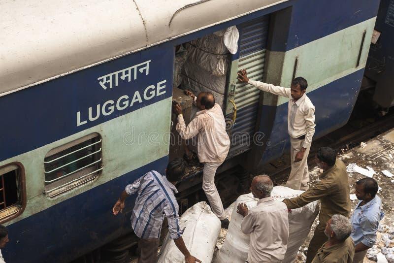 Indische trein stock foto