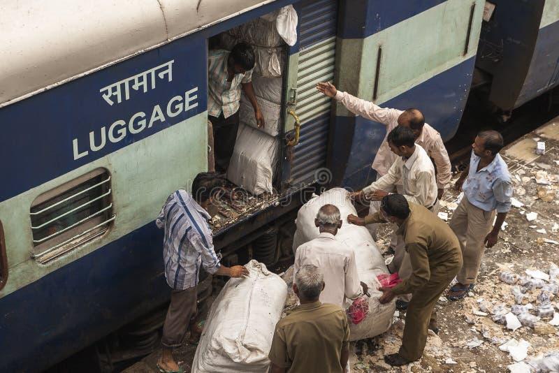 Indische trein stock afbeelding