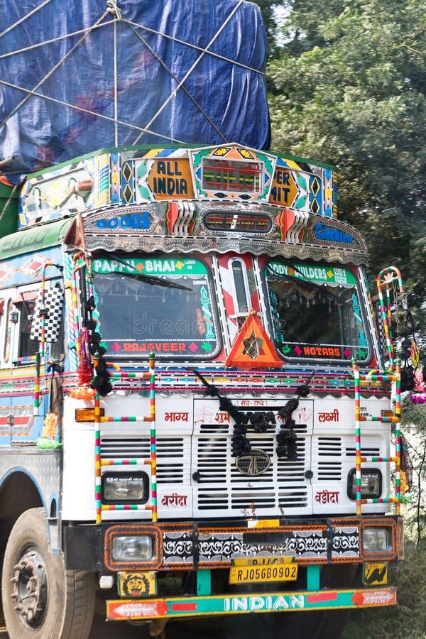 Indische Vrachtwagen stock fotografie