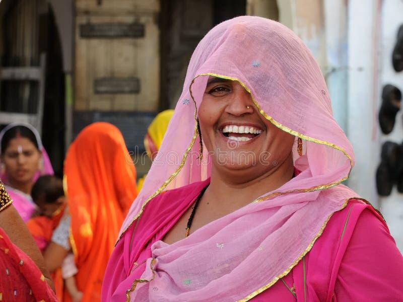 Indische vrouwen stock afbeelding