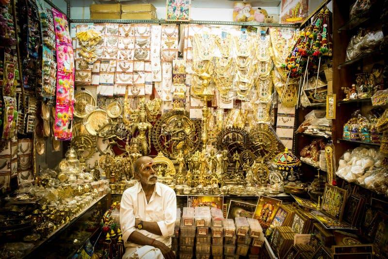 Indische winkels royalty-vrije stock afbeelding