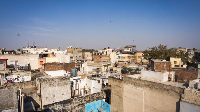 Indische woningbouw royalty-vrije stock afbeelding