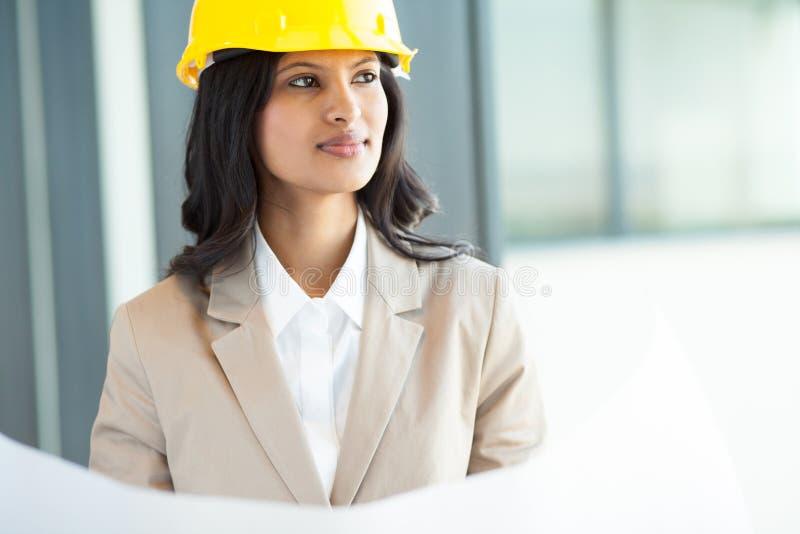 Download Indischer Architekt stockfoto. Bild von geschäftsfrau - 26366974