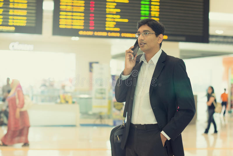Indischer Geschäftsmann lizenzfreies stockbild
